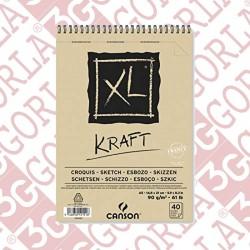 XL KRAFT 14X21 A5 90GR 60...