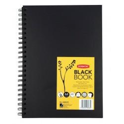 BLACK BOOK A4 200GR 40FG...