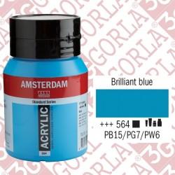 564 AMSTERDAM ACR.500ML BLU...