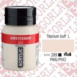 289 AMSTERDAM ACR.500ML TITANIO GIAL CH.