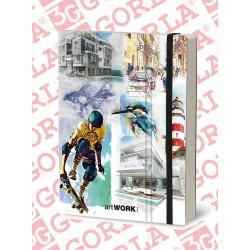 ARTWORK BOOK 19X25 160GR...