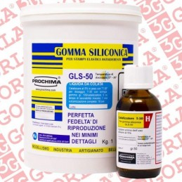 GLS50 GOMMA SILICONICA 1KG....